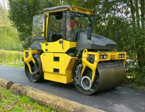 Bomag Asphalt Manager Tandem Roller Service Training Manual Download