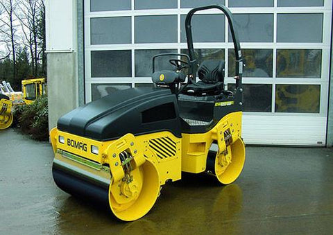 Bomag BW 125 ADH BW 135 AD BW138 AD BW138 AC Single Tandem Vibratory Roller Service Repair Workshop Manual DOWNLOAD