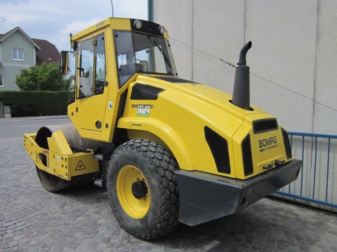 Bomag BW 177/213/226 Single Drum Roller Service Repair Workshop Manual DOWNLOAD