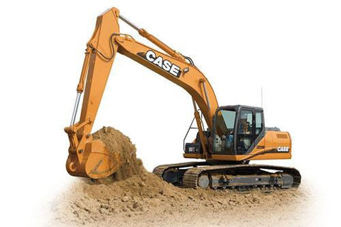 CASE CX210B, CX230B, CX240B CRAWLER EXCAVATOR PARTS CATALOG MANUAL