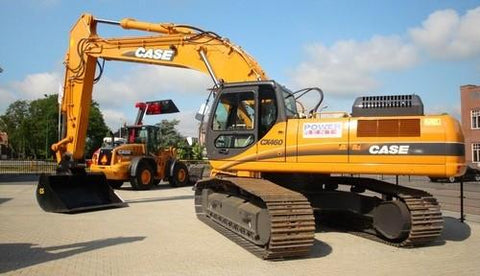 Case Cx460 Tier 3 Crawler Excavator Workshop Service Repair