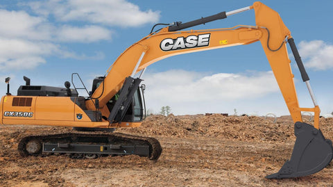 Case CX350C Tier 4 Crawler Excavator Operators Manual Download