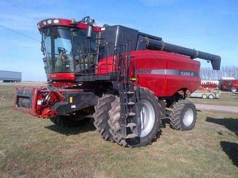 Case IH Axial-Flow Combine Harvester AFX8010 Service Repair Manual - Download!