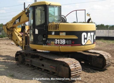 Caterpillar 313B CR Repair Manual BAS00001-UP [Excavator]