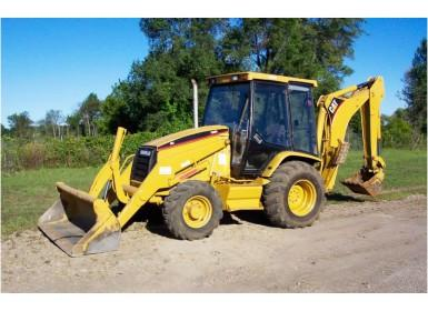 Caterpillar 416C Repai Manual [Excavator]