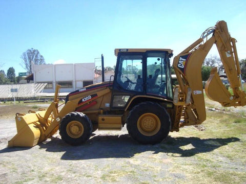 Caterpillar Cat 430D IT Parts Catalog Manual