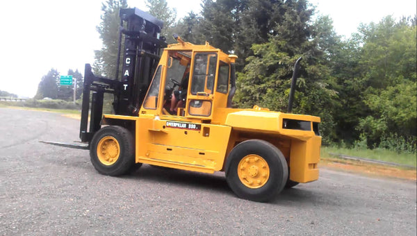 Forklift Manual 966h Cat