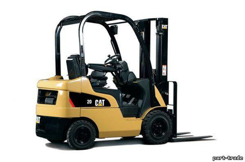 Caterpillar Cat EP13T 24V, EP15T 24V Forklift Lift Trucks Service Repair Workshop Manual DOWNLOAD