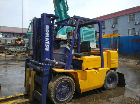Komatsu FD50T Forklift Part's Catalogue Manual Dowmlaod
