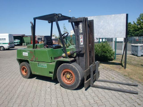 Clark C500 Y 950 CH Forklift * Factory Service / Repair/ Workshop Manual Instant Download! (SM-580)