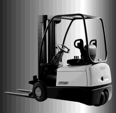 Crown SC3000 Series Forklift Part's Manual Download