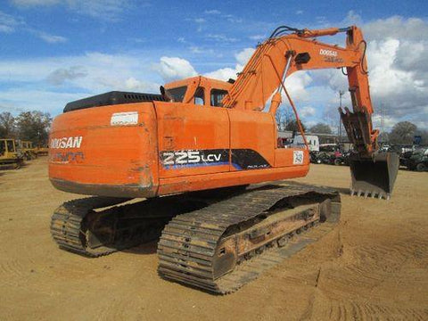 DAEWOO / DOOSAN SOLAR 225LC-V CRAWLER EXCAVATOR OPERATION & MAINTENANCE MANUAL