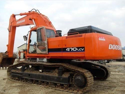 DAEWOO DOOSAN SOLAR 470LC-V TRACK EXCAVATOR SERVICE REPAIR MANUAL DOWNLOAD
