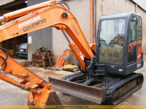 DAEWOO DOOSAN SOLAR 55-V PLUS EXCAVATOR SERVICE REPAIR MANUAL DOWNLOAD