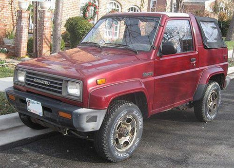 DAIHATSU FEROZA F300 ENGINE WORKSHOP SERVICE REPAIR MANUAL