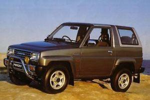 DAIHATSU FEROZA  ROCKY F300 COMPLETE Workshop Service Manual
