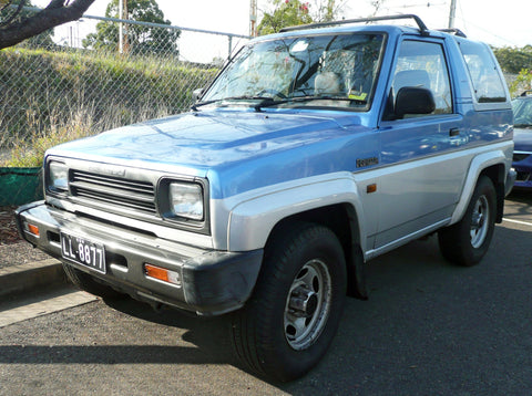 DAIHATSU FEROZA ROCKY F70 F75 F77 F80 F85 WORKSHOP MANUAL