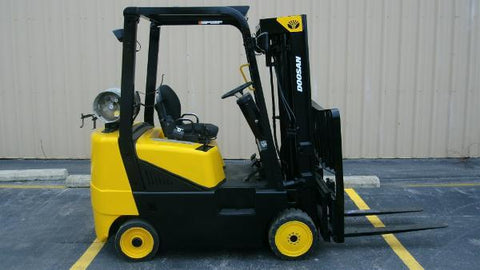 Daewoo G25E Forklift Workshop Service Repair Manual