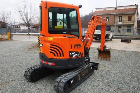 Doosan DX30Z Track Excavator Service Repair Workshop Manual DOWNLOAD