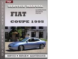 FIAT COUPE CAR WORKSHOP SERVICE MANUAL