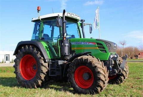 Fendt 309 310 311 312 Vario COM III Tractor Workshop Service & Repair Manual # 1 Download
