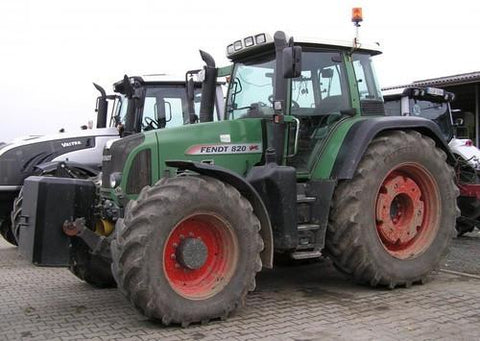 Fendt 700 712 714 716 718 800 818 820 Vario COM3 Tractor Workshop Service Repair Manual