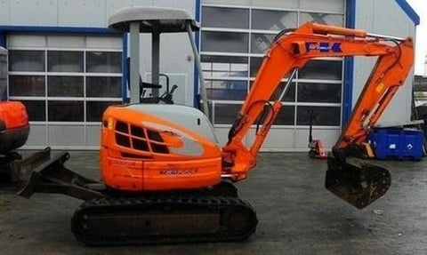 Fiat Kobelco Compact LINE E30SR E35SR EVOLUTION Mini Excavators* Factory Service / Repair/ Workshop Manual Instant Download!