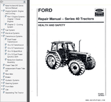 New Holland Ford 40 Series 5640 6640 7740 8240 8340 Tractors Service Manual PDF