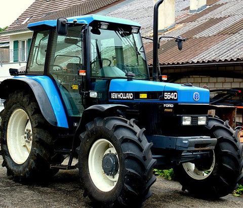 New Holland Ford >> New Holland Ford 40 Series 5640 6640 7740 8240 8340 Tractor