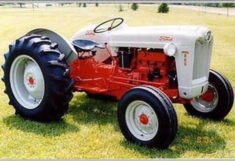 Ford Tractor 501 - 4000 Service Repair Workshop Manual DOWNLOAD