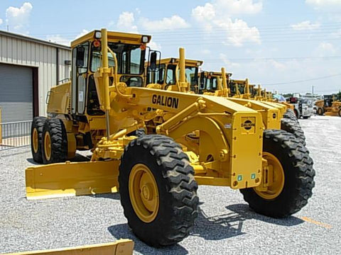 Galion 850 Motor Grader Repair Workshop Manual