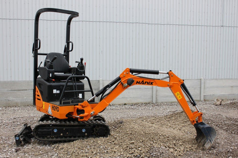 HANIX H09D EXCAVATOR WORKSHOP SERVICE & PARTS MANUAL
