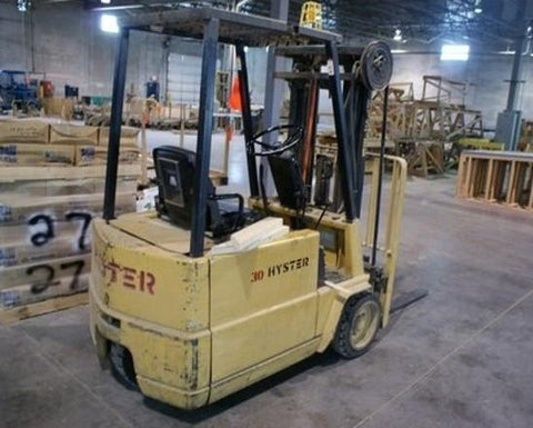 Hyster A20XL, A25XL, A30XL Forklift Part's Manual Download