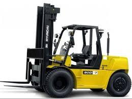 HYUNDAI FORKLIFT TRUCK 80D-7 SERVICE REPAIR MANUAL