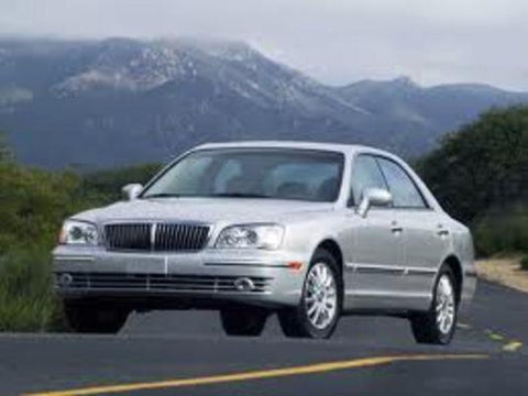 HYUNDAI GRANDEUR XG 98-05 WORKSHOP SERVICE REPAIR MANUAL