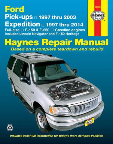 1997 Ford Expedition Haynes Service Repair Manual