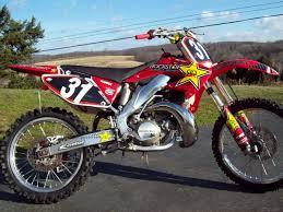 Honda CR250R Service Manual 2000-2001