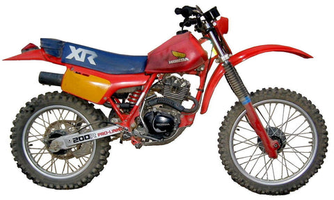 Honda XR 250 R 1983 Service Repair Manual