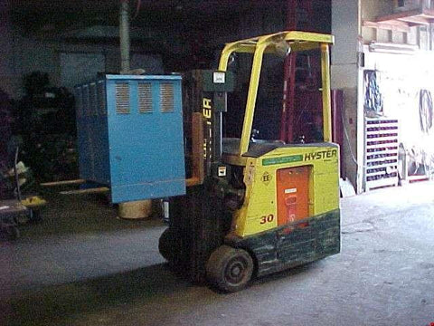 Hyster E30FR, E35FR, E40FR, E45FR, E50FR Forklift Workshop Service Repair Manual