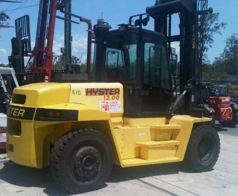 Hyster H007 (H8.00XM, H9.00XM, H10.00XM, H12.00XM Europe) Forklift Service Repair Workshop Manual DOWNLOAD