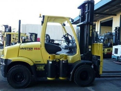 Hyster J006 (H135FT, H155FT) Forklift Service Repair Workshop Manual DOWNLOAD