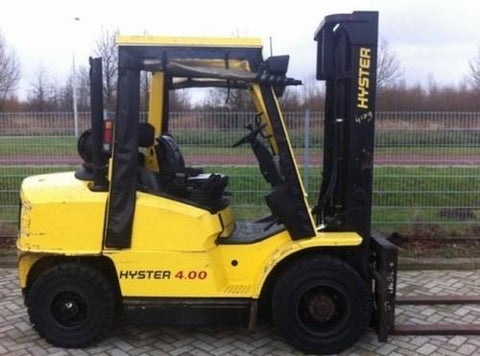 Hyster L005 (H3.50-5.50XM, H4.00XM-6, H4.00XMS-6 Europe) Forklift Service Repair Workshop Manual DOWNLOAD