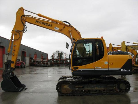 Hyundai R360LC-3 Crawler Excavator Service Repair Workshop Manual DOWNLOAD