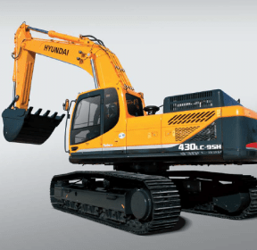 Hyundai R430LC-9SH Crawler Excavator Service Repair Workshop Manual DOWNLOAD