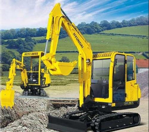 Hyundai Robex 15-7 R15-7 Mini Excavator Service Repair Workshop Manual DOWNLOAD