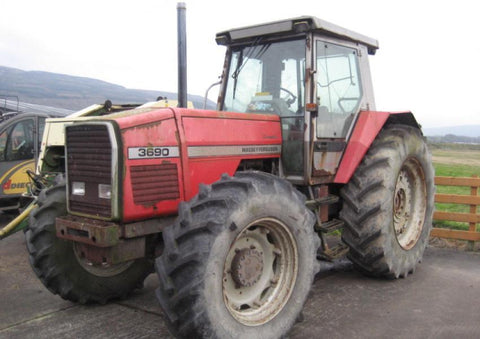 Massey Ferguson 3690 Parts Catalogue Manual