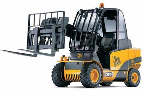 JCB 2.0D/G, 2.5D/G, 3.0D/G, 3.0D 4×4, 3.5D 4×4 Teletruk Service Repair Workshop Manual INSTANT DOWNLOAD