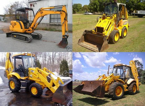 JCB 214, 215, 217 Backhoe Loader Workshop Repair Service Manual