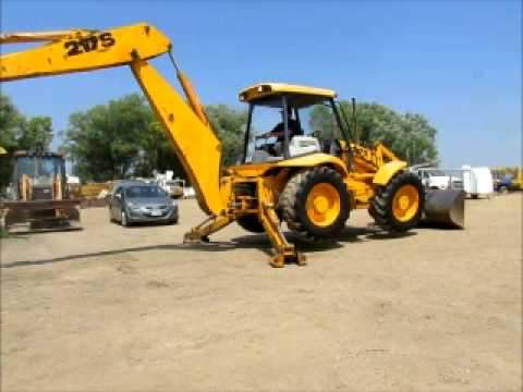 JCB 217S Backhoe Operator Manual