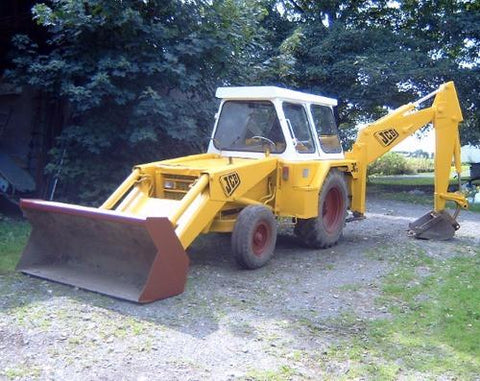 JCB 3 3C 3CS 3D Excavator Loader Repair Service Manual